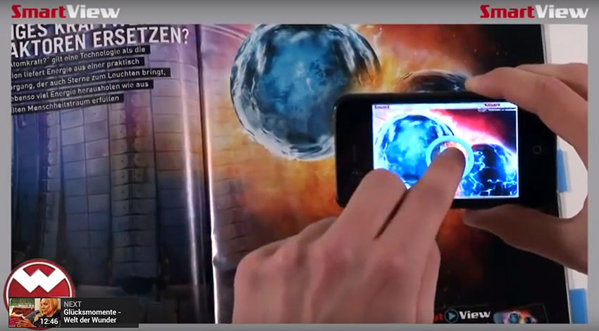 SmartView Augmented Reality app
