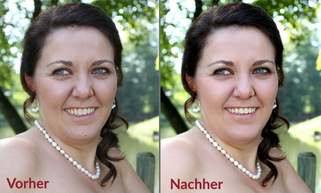 Image editing, retouching and montage of photographs